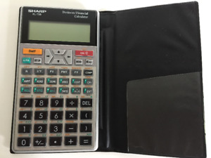 Calculatrice financière / Financial Calculator (Sharp EL-738)