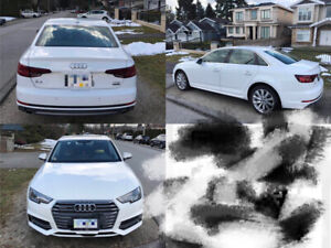 Lease Transfer  for an 2018 Audi A4!