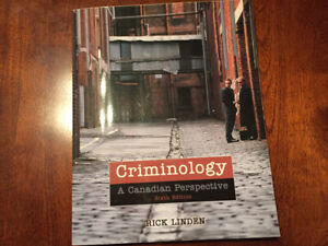CRIMINOLOGY: A CANADIAN PERSPECTIVE Paperback