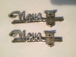 Chevy 2 Nova Badges