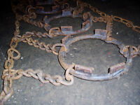 Heavy Duty Tractor Chains  SOLD   SOLD   SOLD