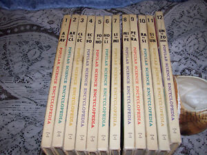1963 COMPLETE SERIES POPULAR SCIENCE FOR YOUNG PEOPLE