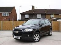 2012 Chevrolet Captiva 2.2 VCDI Turbo Diesel 184 BHP LT 6 Speed 4x4 4WD 7-Seater
