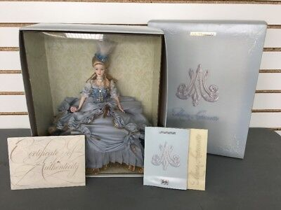2003 MARIE ANTOINETTE BARBIE LIMITED GOLD EDITION WOMEN OF ROYALTY NRFB COA