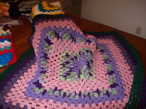 Hand Crocheted Lap Robes