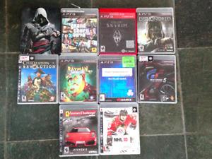 10 Jeux PS3 10 Games
