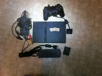 Slim Playstation 2 PS2 Console with Controller memory card..plus