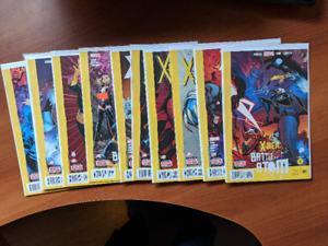 X-MEN BATTLE OF THE ATOM CHAPTER 1 TO 10 NM WOLVERINE