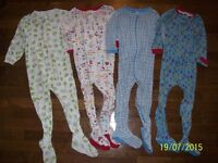 The Children's Place & Baby Gap Footed Sleepers, Boys 3T