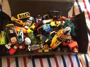 Large Box of Toy Cars, various sizes and models
