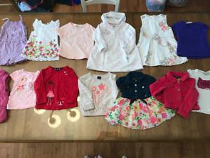 Vêtements de marque (Fille 18-24 mois)