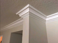 Crown moulding and Cabinet installation