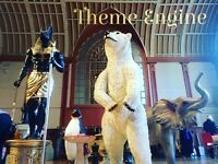 Fantastical themes and props for hire for parties,Weddings and events!