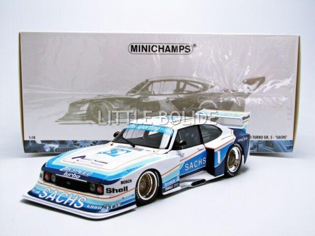 MINICHAMPS 1/18 FORD Capri Turbo Gr 5 - SACHS - DRM 1979 100798601
