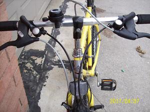 Quite New bright Yellow one Canada made Free Spirit bike No.2