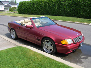 Mercedes 300SL convertible