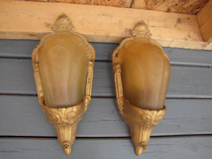 wall sconce by Electrolier, made of cast iron