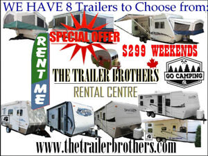 Travel Trailer for RENTALS