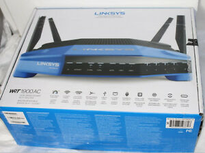 ROUTEUR SANS-FIL INTELLIGENT DOUBLE BANDE AC1900 LINKSYS WRT1900