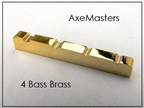 """USA MADE AxeMasters 1 5/8"""" / 41mm Brass Nut for Fender PRECISION P Bass Guitar"""