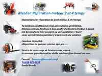 Mecdan Réparation de petit moteur 2 et 4 temps