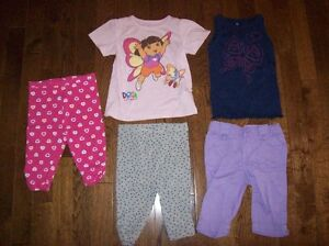 Old Navy Tops & Capris, Size 18-24 months