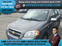 Chevrolet Aveo Available for Bad Credit Auto Loans.