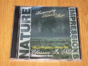 """""""Nature Impressions: Classics In Nature"""" Relaxation CD - Rare!"""