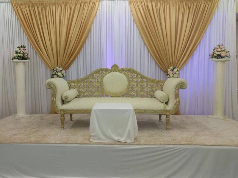 Wedding stage and all your wedding needs covering