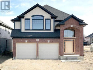 Upgraded Brand New Detached 4 Bedroom House On Premium Lot .