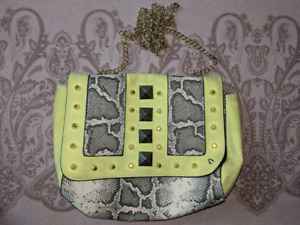 Small purse with crossbody chain