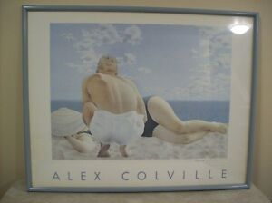 Painting ALEX COLVILLE – COUPLE ON THE BEACH