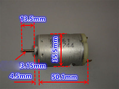 JOHNSON RS-540 DC 6V 7.2V 20000RPM High Speed Large Torque Electric Tools Motor