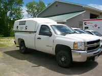 2010 CHEV 2500HD 4x4 --- SPACE CAP INCLUDED--