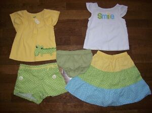 Gymboree 'A Pop of Daisies' Outfits, Size 18-24 months