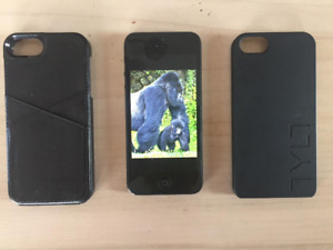 iPhone 5 32GB Black & Slate (GSM) Unlocked MD295C/A + Charger