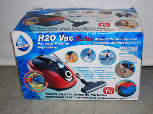 H20 Vac Turbo Water Filtration System Vacuum Cleaner