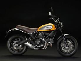 Ducati Scrambler Classic With FREE Termi Silencer | £85 Per Month