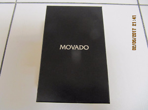 Classic Movado 81-E4-9880 Mens Two Tone Quartz Watch Circa1990s