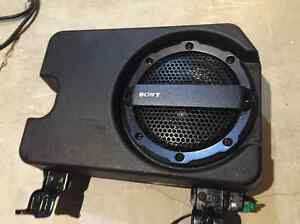 Sony Subwoofer and amp