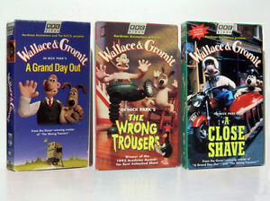 Wallace & Gromit BBC - VHS Trio