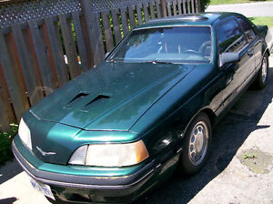 88  t bird tubro  5 spd in great condion