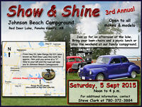 Show & Shine - NEW DATE - 5 Sept 2015