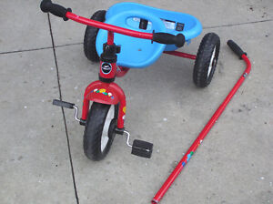 Classic red  kids tricycle