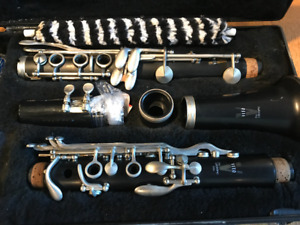 Clarinet woodwind instrument