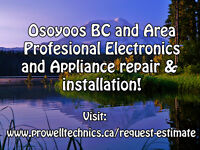 Electronics and appliance repair and installation! Big or small!