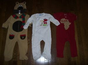 Boys Sleepers & Romper, Size 18-24 months
