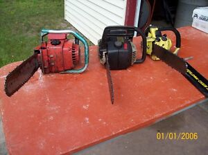3 Chaines Saw