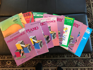 Selection of Guitar/Piano Music Books!