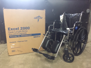 """""Special"""" On Sale $169 - NEW Medline Excel 2000 Wheelchair"